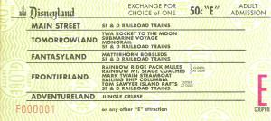 E ticket Coupon