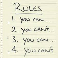 list of rules